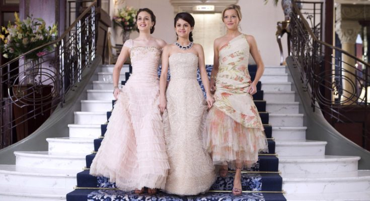 Grace (Selena Gomez, center) is an ordinary girl who becomes an accidental heiress when a family summer trip to Paris turns into the fantasy of a lifetime.  Living like royalty, Grace, along with her two best friends, Meg (Leighton Meester, left) and Emma (Katie Cassidy), discovers who she really is ‰ÛÒ by assuming another person‰Ûªs identity.