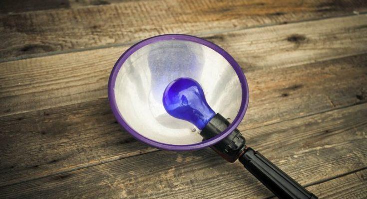 mavi lampa