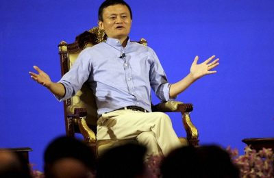 """Bangkok: Jack Ma, executive chairman of the Alibaba Group, delivers a speech titled """"A Conversation on Entrepreneurship and Inclusive Globalization"""" at  Foreign Ministry in Bangkok, Thailand, Tuesday, Oct. 11, 2016. AP/PTI(AP10_11_2016_000022B)"""