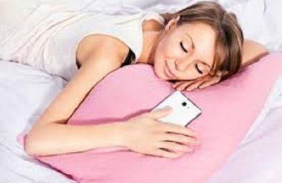 telefonla yatmaq