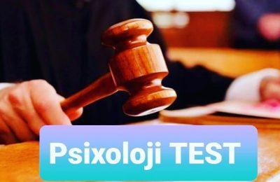 psixoloji test